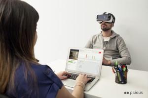 Terapia con Realidad Virtual en psicología